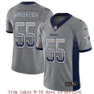 Cowboys #55 Leighton Vander Esch Drift Jersey
